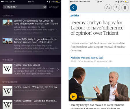 Guardian iOS9