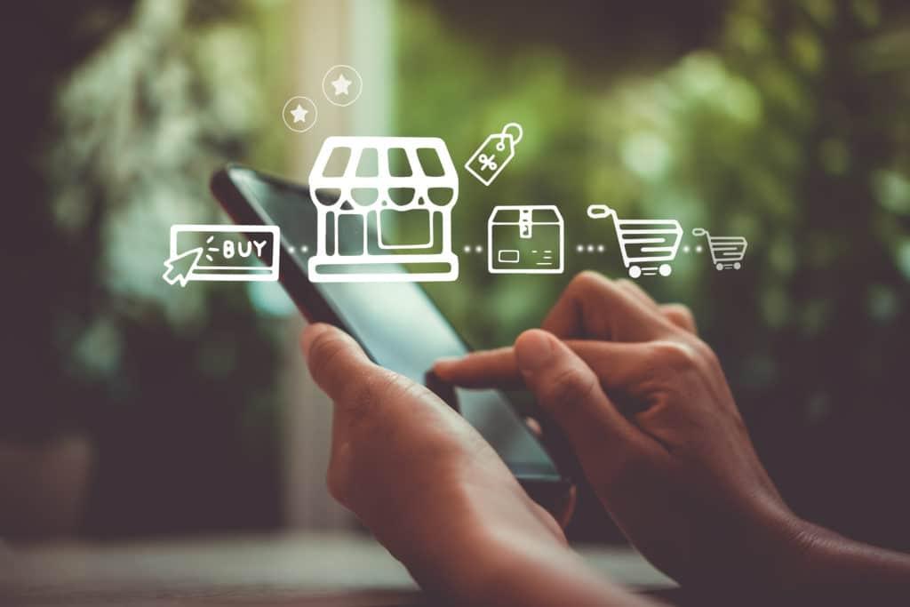 stratégie retail omnicanal multicanal shopping en ligne vertone stratégie marketing retail cabinet de conseil
