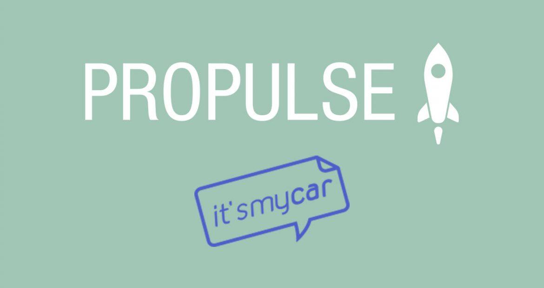 itsmycar propulse entrepreneuriat