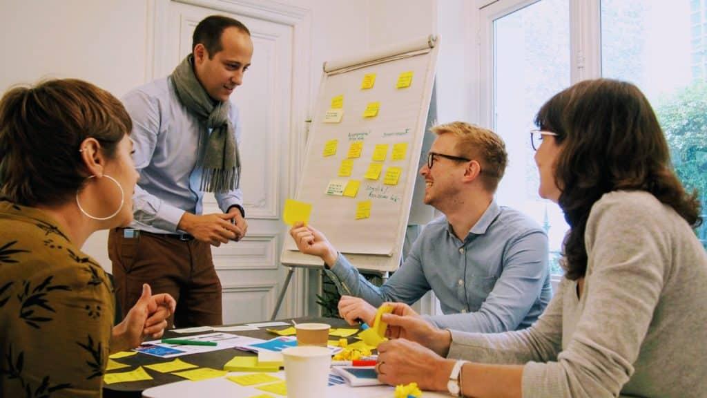 Design sprint - VERTONE cabinet de conseil innovation création offre et service